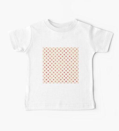 Vintage Polka Dots Baby Tee