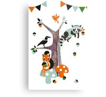 Friends of the forest Metal Print