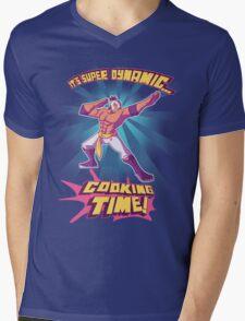 Super Dynamic Cooking Time! Mens V-Neck T-Shirt