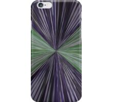 Green and Purple Art Print iPhone Case/Skin