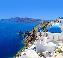 Santorini island, Greece by Atanas Bozhikov Nasko