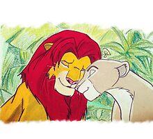 Lion King by Steve Nice