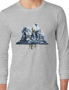 The Game of Kings, Wave Three: The White Queen-Knight's Pawn Long Sleeve T-Shirt