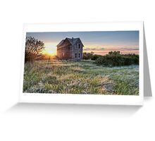 Prairie Fire Greeting Card