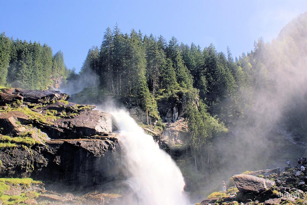 Krimml waterfall Austria by theheijt