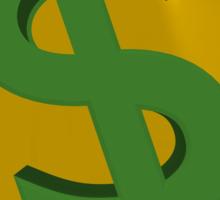U.S. dollars Sticker