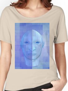 man in 3d Women's Relaxed Fit T-Shirt