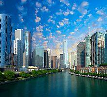 Chicago, USA - Skyline by Atanas Bozhikov NASKO