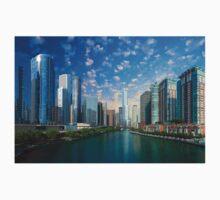 Chicago, USA - Skyline Baby Tee