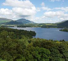 Derwent Water in The English Lake District by Duncan Payne