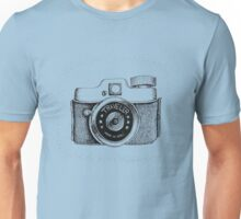 Vintage Traveler Camera Unisex T-Shirt
