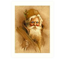 Old World Santa Art Print