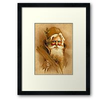Old World Santa Framed Print
