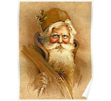 Old World Santa Poster