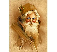 Old World Santa Photographic Print