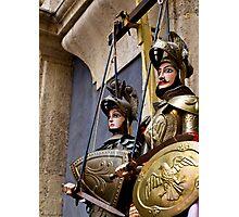 Sicilian puppets Photographic Print