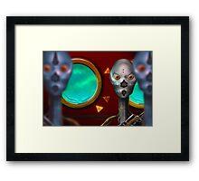 Robotic Relations Framed Print