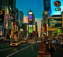 times square by rafaj