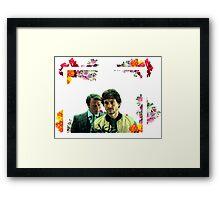 hannigram frame Framed Print