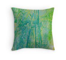 Rainforest Dawn Throw Pillow