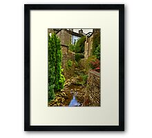 Village Stream - Dent. Framed Print