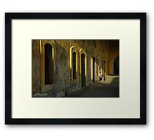 Being In The Light Framed Print