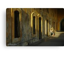 Being In The Light Canvas Print