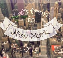 Let's travel to NY by MarieMistery