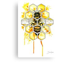 Hive Mentality Canvas Print