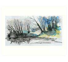 River Plym 1 Art Print