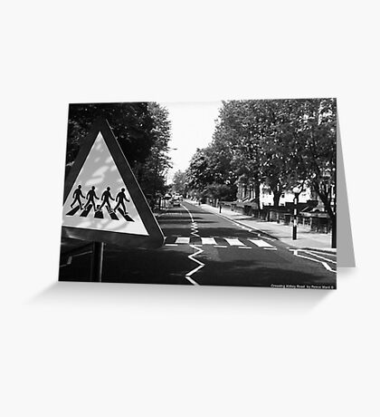 Crossing Abbey Road Greeting Card
