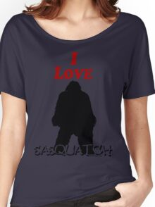 I Love Sasquatch Women's Relaxed Fit T-Shirt