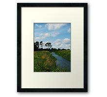 The Ward River Framed Print