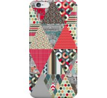 London triangle quilt iPhone Case/Skin