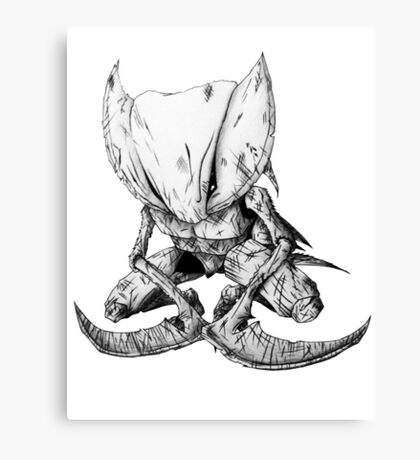 Kabutops Basic Canvas Print