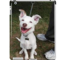 Eddie, the happiest dog in the world iPad Case/Skin