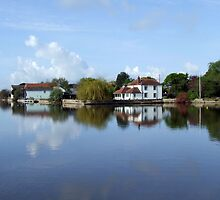Across The Pond, Emsworth, Hampshire, U.K. by LumixFZ28