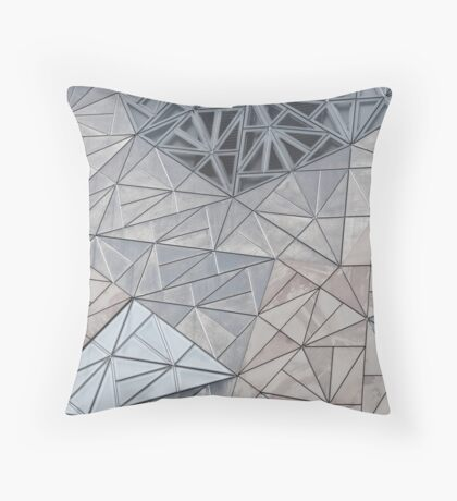 Triangular Façade Throw Pillow
