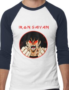 IRON SAIYAN Men's Baseball ¾ T-Shirt
