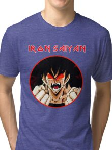 IRON SAIYAN Tri-blend T-Shirt