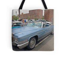 1970 Cadillac Convertible Tote Bag