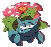 venusaur. by scribblekisses