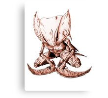 Kabutops Brown Canvas Print