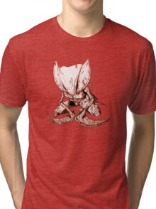Kabutops Brown Tri-blend T-Shirt