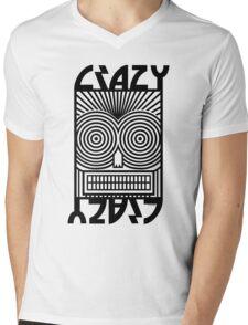 Crazy   Mens V-Neck T-Shirt
