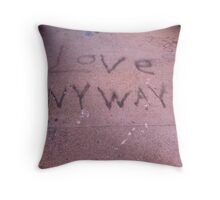 Love Anyway! Throw Pillow