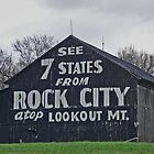 Rock City Barn  by lynell