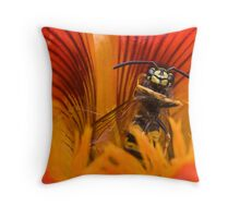 Dance into the Fire Throw Pillow