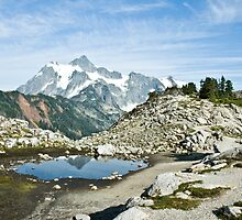 Mt. Shuksan by Appel