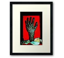 Hand of a Witch Framed Print